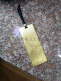 办公书签蚀刻加工 办公礼品书签腐蚀厂 铜装饰片腐蚀加工