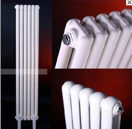 厂家供应GGZT2-0.9/X-1.0钢制椭二柱暖气片/片头钢二柱暖气片散热器