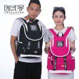 帆布雙肩包運動學生旅遊包