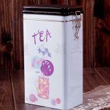 廠家定製密封茶葉鐵罐、花果茶馬口鐵罐、方形鐵盒定製