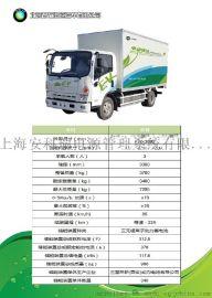 7吨纯电动箱式物流车