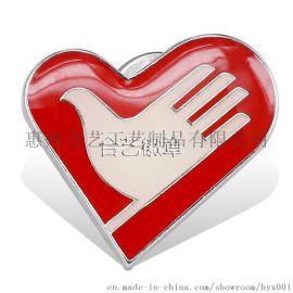 马口铁徽章、胸章、胸针,广告促销礼品、展销会礼品、**典徽章