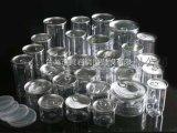 PET塑料罐 高透明食品罐 铝盖透明塑料罐