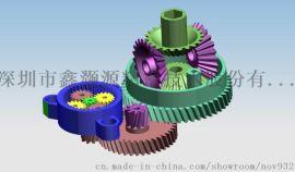 超静音小模数塑料齿轮及减速箱设计与制造厂
