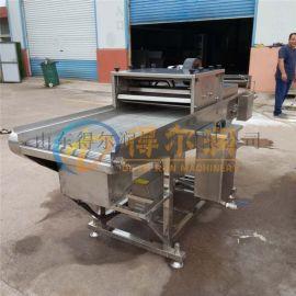 特卖 奶香鸡柳裹糠机 腿排上浆裹糠设备 鸡排裹糠机