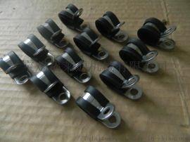 Φ16软管用金属R型固定夹