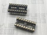 2.54mm IC 圆孔排针连接器 180度