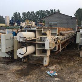 回收污水处理二手厢式压滤机 二手自动压滤机