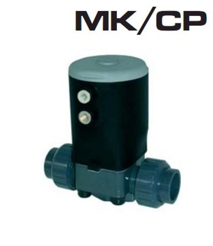 意大利FIP MK/NC气动隔膜阀 常闭型气动阀门气动隔膜阀 单作用隔膜阀