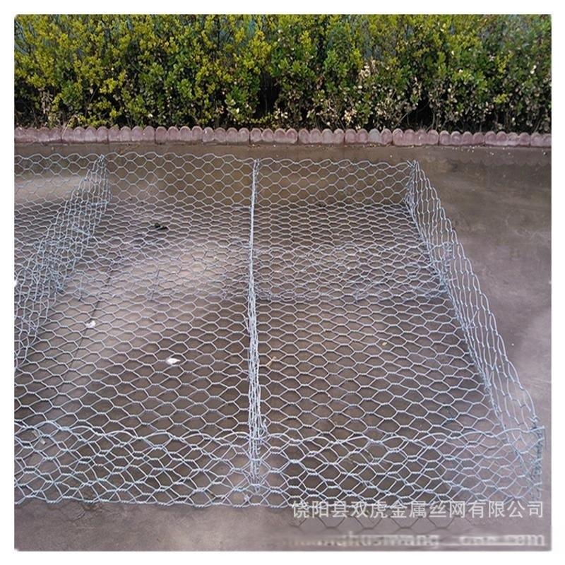 供应镀锌石笼网高尔凡石笼网 铝锌合金格宾网