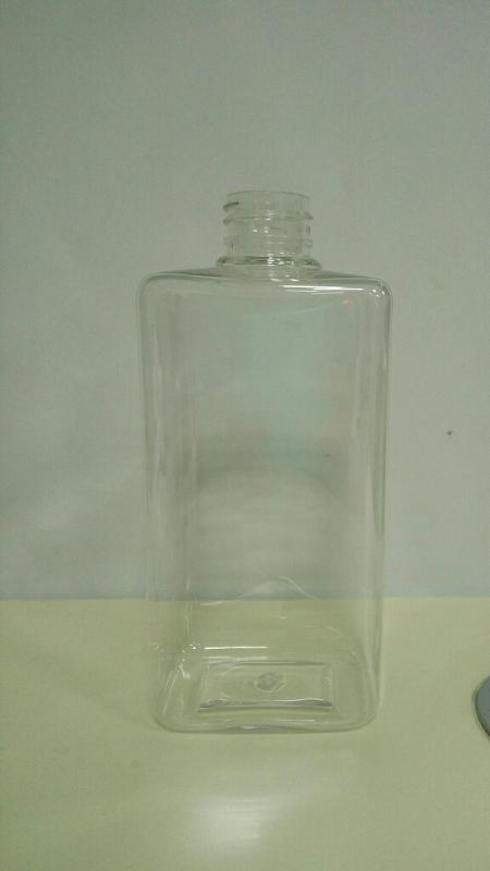 500ml四方塑料瓶pet塑料瓶pet方瓶pvc包裝盒透明塑料盒洗髮水瓶子