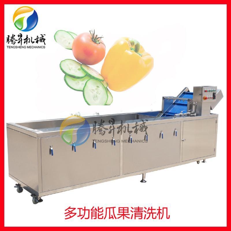 廠家生產多功能果蔬清洗機 百香果氣泡清洗機