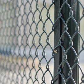 球场安全网厂家定制篮球场排球场防护网绿色勾花网护栏张家口现货
