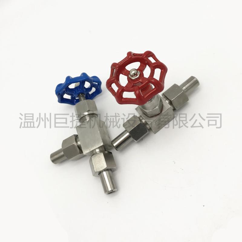 304不锈钢角式针型阀 J24W-160P 高压焊接 截止阀哪家好
