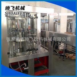 饮料机械 液体全自动灌装机 矿泉水/纯净水三合一灌装生产线