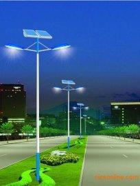 高低臂太阳能路灯,道路照明灯