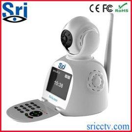 施瑞安SricamSP003无线摄像头 手机语音视频通话网络电话摄像机监控报 一体智能家居网络摄像机