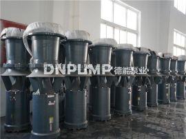 雨季排洪涝中吸式潜水轴流泵
