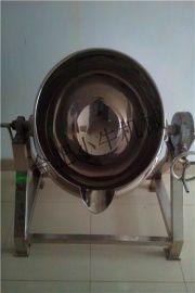 安徽夹层锅,304不锈钢100L可倾式蒸汽夹层锅