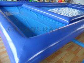 充气水池  游泳池  支架池  pvc夹网布加厚型