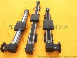 廠家生產 鋁型材同步輪皮帶傳動 直線驅動 步進伺服用直線導軌