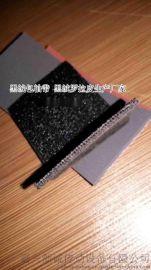 福建黑绒包辊带 刺毛皮 黑绒布K-71
