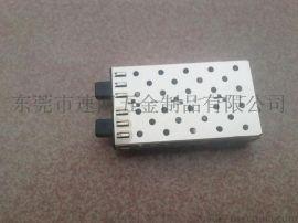 光模块笼子防尘塞/笼子胶塞RJ54胶塞/笼子堵头;光纤防尘塞,交换机防尘塞