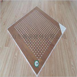 供应PVC木纹饰面吸声石膏天花板