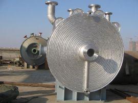 螺旋板换热器 列管换热器 一二类压力容器 石化PTA螺旋板换热器