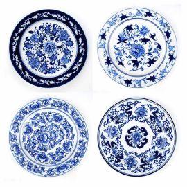 纪念瓷盘定做 青花瓷陶瓷纪念盘定做