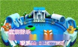 江蘇廣場ts-76充氣水滑梯現貨 水滑梯現貨
