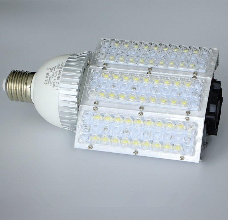 60W路燈燈泡 E40螺口60W路燈光源 E27路燈頭