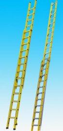 玻璃钢升降梯子 玻璃钢伸缩梯子