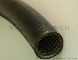 福莱通阻燃耐油双扣镀锌包塑金属软管