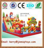 供应大型充气玩具 充气城堡滑梯 儿童充气游乐设备 JMQ-P128B