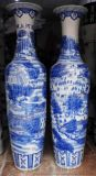 供应手工陶瓷大花瓶 青花大花瓶厂家
