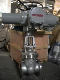 Z941W 型 PN16~PN200 电动不锈钢法兰闸阀