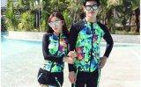 新品上市廠家直銷抗UV50+防曬萊卡衣運動緊身跑步衣