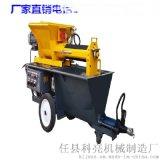 简述大排量水泥砂浆喷涂机如何喷出完美效果