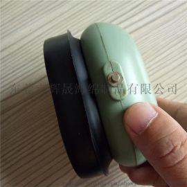高品质耳机套 硅胶皮耳套 吸塑成型PVC耳机套 车缝耳套