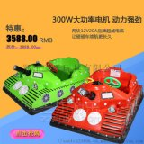 山西陽泉SL-雙人兒童碰碰車保時捷款式