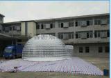 廠家直銷透明充氣帳篷透明充氣房子
