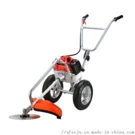 家用小型推车式除草机手推式打草机工作效率