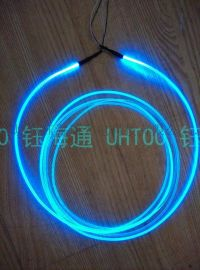 (超亮4mm)实芯导光光纤/通体光纤/广告装饰灯具/导光条