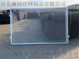 桥梁铁路防护栅栏 四方台区桥梁铁路防护栅栏** 河北澜润
