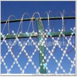 刀片刺绳高铁围栏防护刺网高速隔离