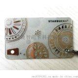 广州厂家专来制作镶钻VIP卡,镶钻石贵宾卡,高档钻石卡制作