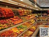超市转角风幕柜,水果保鲜柜,饮料发酵乳酸奶冷藏柜,全国联保