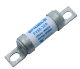 SINOBILE 螺旋式安裝12A 690Vac/500Vdc EV88高壓熔斷器