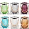 欧式简约菠萝玻璃花瓶花器插花家居客厅卧室摆件现代水培装饰摆件